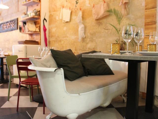 Chez Thérèse La salle de bain